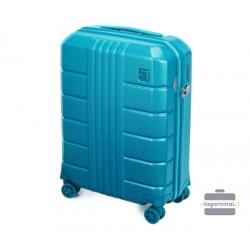 Mažas plastikinis lagaminas Wittchen 56-3P-821 Turkio spalva