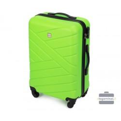 Vidutinis plastikinis lagaminas Wittchen 56-3A-302-V Šviesiai žalias