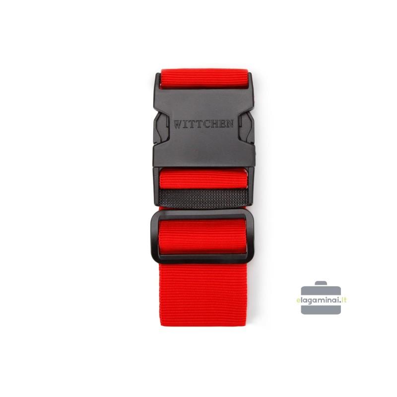 Apsauginis lagamino diržas Wittchen 56-30-015 Raudonas