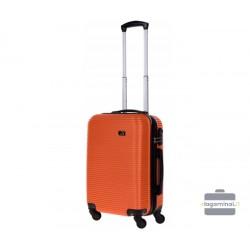 Mažas plastikinis lagaminas Bagia 8080-M Oranžinis