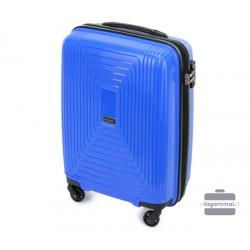 Mažas plastikinis lagaminas Wittchen 56-3T-781-M Mėlynas