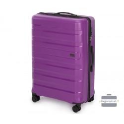 Didelis plastikinis lagaminas Wittchen 56-3T-753-D Violetinis