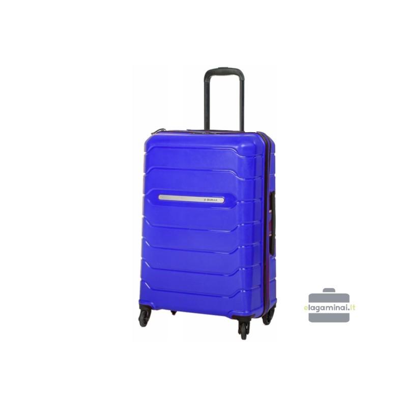 Didelis plastikinis lagaminas Burak PQ-D Mėlynas