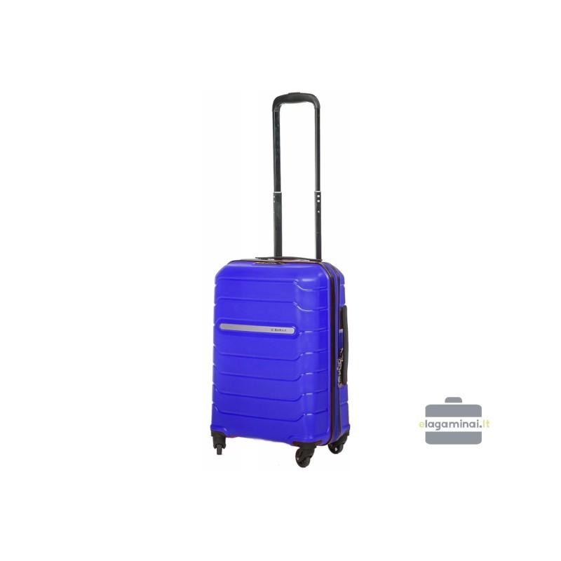 Mažas plastikinis lagaminas Burak PQ-M Mėlynas