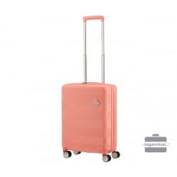 Mažas lagaminas American Tourister Flylife M Rožinis