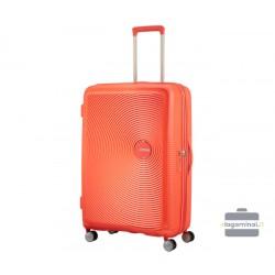 Didelis lagaminas American Tourister Soundbox D Oranžinis