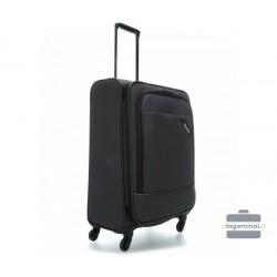 Vidutinis medžiaginis lagaminas Travelite Derby V Tamsiai pilkas