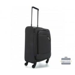 Mažas medžiaginis lagaminas Travelite Derby M Tamsiai pilkas