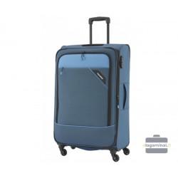 Didelis medžiaginis lagaminas Travelite Derby D Mėlynas