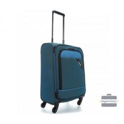 Mažas medžiaginis lagaminas Travelite Derby M Mėlynas
