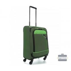 Mažas medžiaginis lagaminas Travelite Derby M Žalias