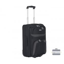 Mažas medžiaginis lagaminas Travelite Orlando M Juodas