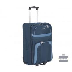 Vidutinis medžiaginis lagaminas Travelite Orlando V Tamsiai mėlynas