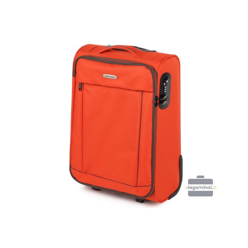 Mažas medžiaginis lagaminas Wittchen 56-3S-461 Oranžinis