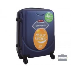 Mažas plastikinis lagaminas Gravitt 310A-M Tamsiai mėlynas