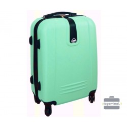 Mažas plastikinis lagaminas Gravitt 168A-M Šviesiai žalias