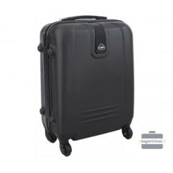 Mažas plastikinis lagaminas Gravitt 168A-M Juodas