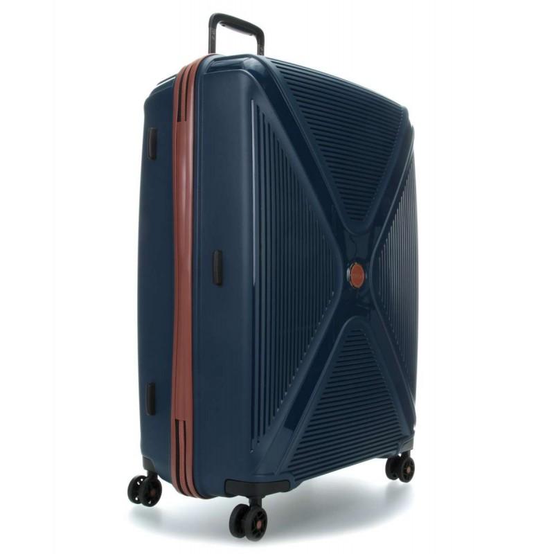 Didelis plastikinis lagaminas Titan Paradoxx-D Mėlynas