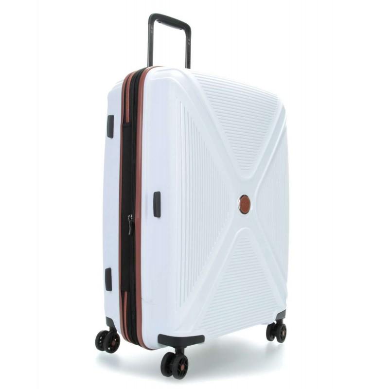 Vidutinis plastikinis lagaminas Titan Paradoxx-V Baltas