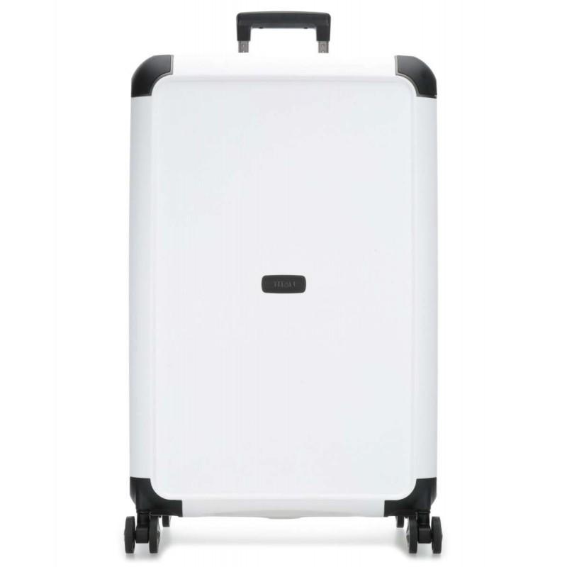 Didelis plastikinis lagaminas Titan Compax-D Baltas