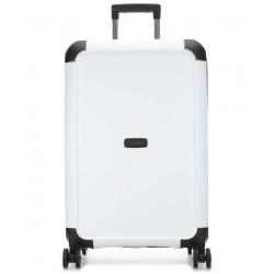 Vidutinis plastikinis lagaminas Titan Compax-V Juodas