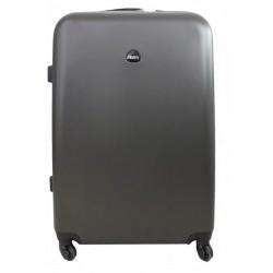 Vidutinis plastikinis lagaminas Gravitt 866-2Z-V Tamsiai pilkas