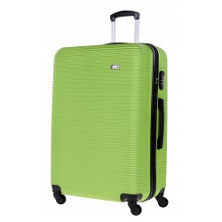Didelis plastikinis lagaminas Bagia 8080-D Žalias