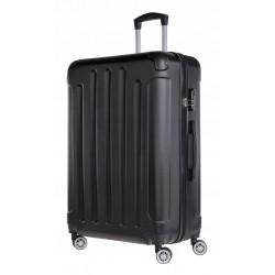 Didelis plastikinis lagaminas Bagia 839-D Juodas