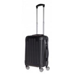 Mažas plastikinis lagaminas Bagia 839-M Juodas
