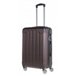 Vidutinis plastikinis lagaminas Bagia 839-V Rudas