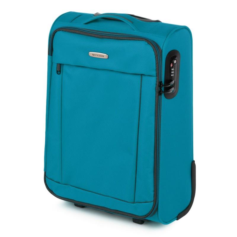 Mažas medžiaginis lagaminas Wittchen 56-3S-461 Šviesiai mėlynas