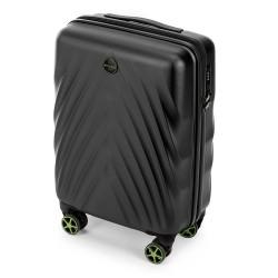 Mažas plastikinis lagaminas Wittchen 56-3P-801 Juodas