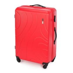 Didelis plastikinis lagaminas Wittchen 56-3A-573 Raudonas