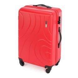 Vidutinis plastikinis lagaminas Wittchen 56-3A-572 Raudonas