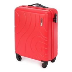 Mažas plastikinis lagaminas Wittchen 56-3A-571 Raudonas