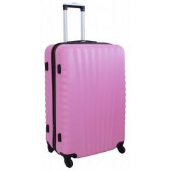 Didelis plastikinis lagaminas Gravitt 888-2Z-D Rožinis