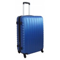 Didelis plastikinis lagaminas Gravitt 888-2Z-D Mėlynas