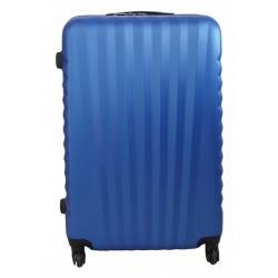 Vidutinis plastikinis lagaminas Gravitt 888-2Z-V Mėlynas