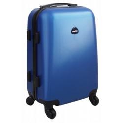 Mažas plastikinis lagaminas Gravitt 866-M Tamsiai mėlynas