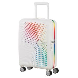 Vidutinis lagaminas American Tourister Soundbox V Rainbow