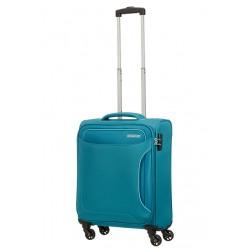 Mažas lagaminas American Tourister Holiday Heat M Šviesiai žalias