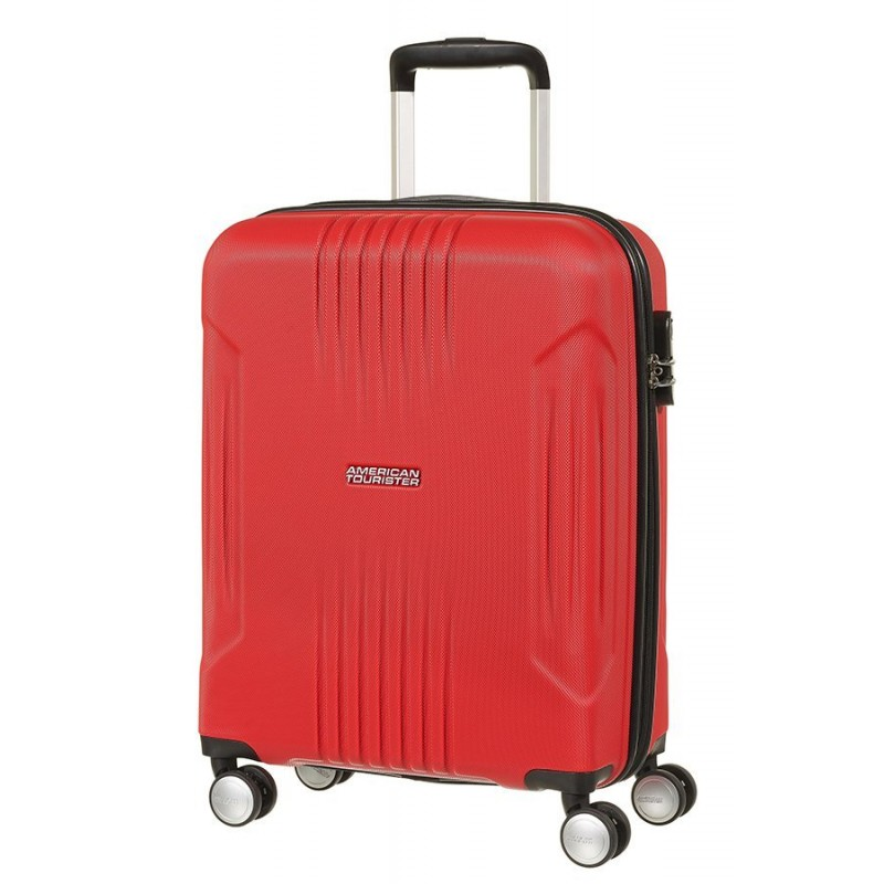 Mažas lagaminas American Tourister Trackite raudonas