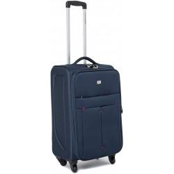 Didelis medžiaginis lagaminas David Jones 5028-D Tamsiai Mėlynas