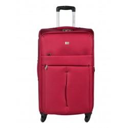 Didelis medžiaginis lagaminas David Jones 5028-D raudonas