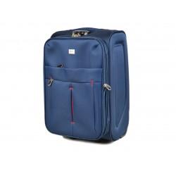 Mažas medžiaginis lagaminas David Jones 5028-D tamsiai mėlynas