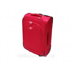 Mažas medžiaginis lagaminas David Jones 2000-V Raudonas