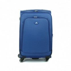 Didelis medžiaginis lagaminas David Jones 2000-D Mėlynas