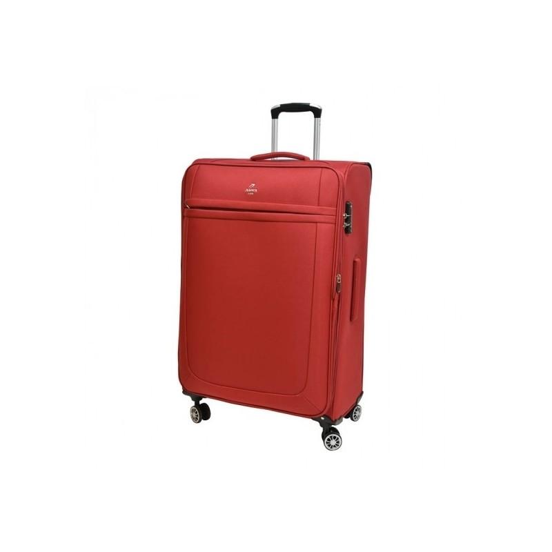 Vidutinis medžiaginis lagaminas Airtex 6522 raudonas