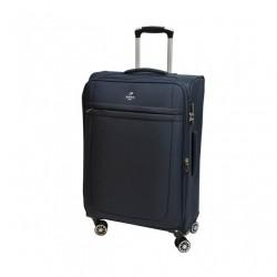 Didelis medžiaginis lagaminas Airtex 6522 tamsiai mėlynas