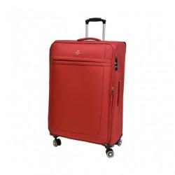 Didelis medžiaginis lagaminas Airtex 6522 raudonas